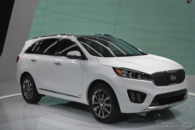 Baru Kia Sorrento (14 Los Angeles motor show)