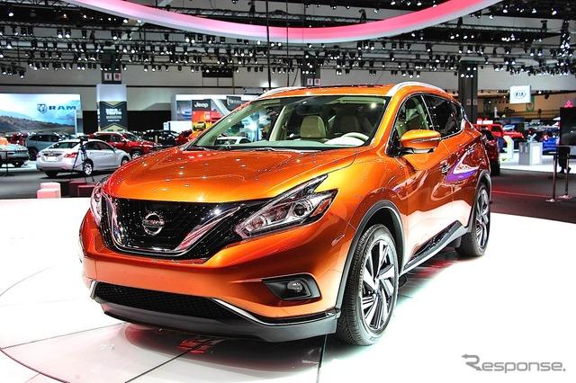Nissan Murano (2014 Los Angeles Auto Show)