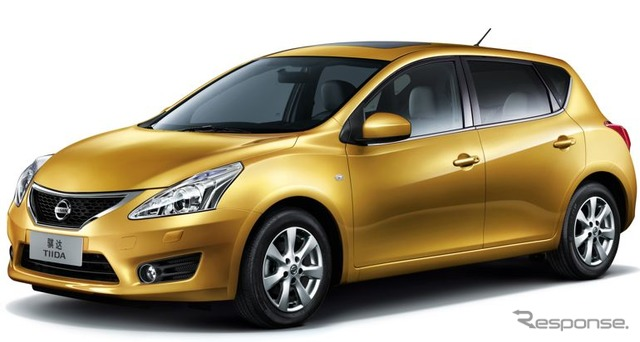 Nissan Tiida new Chinese specifications
