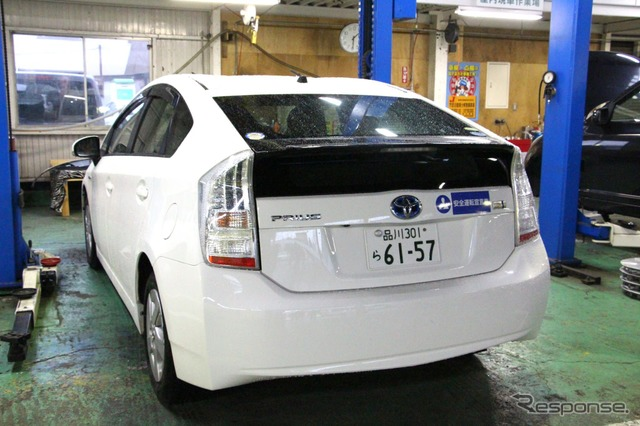 u-neo Jumbo Soka Internet shop conducts a Toyota Prius battery replacement