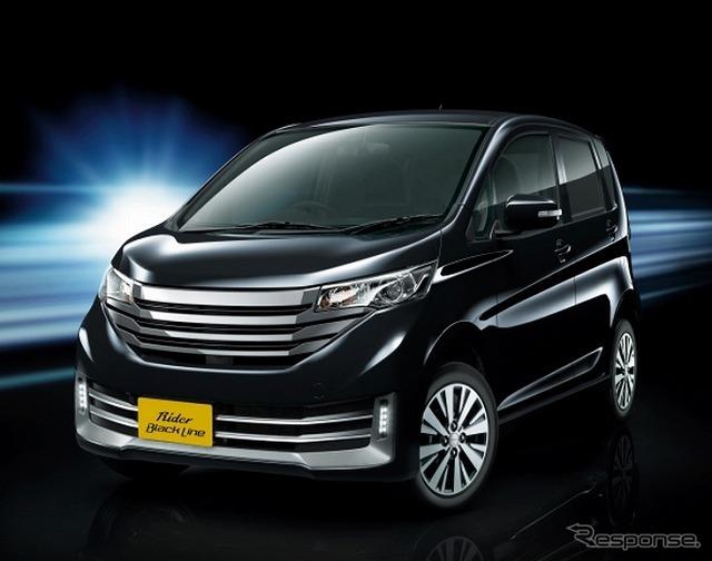 Nissan days rider black line (Highway Star XV selection + Safety2 based)