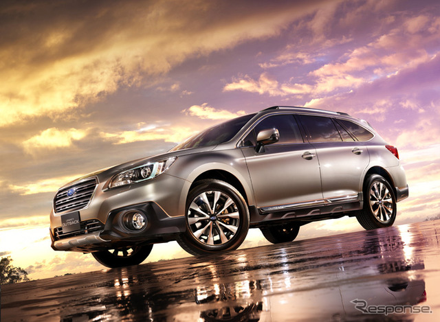 Subaru, the new legacy Outback