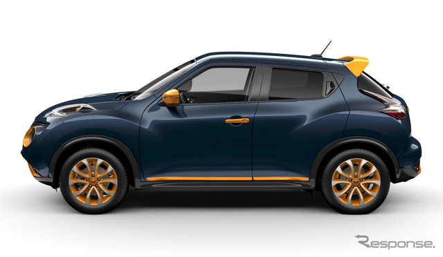 Color Studio of Nissan Juke