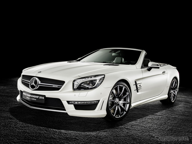 Mercedes-Benz SL63 AMG Nico Rosberg specifications World Championship 2014 collector's Edition