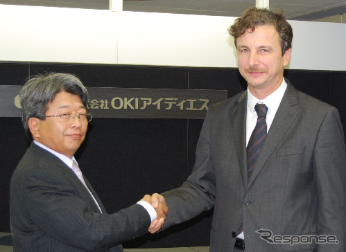 OIDS anada President (left) and xylon kobaches CEO