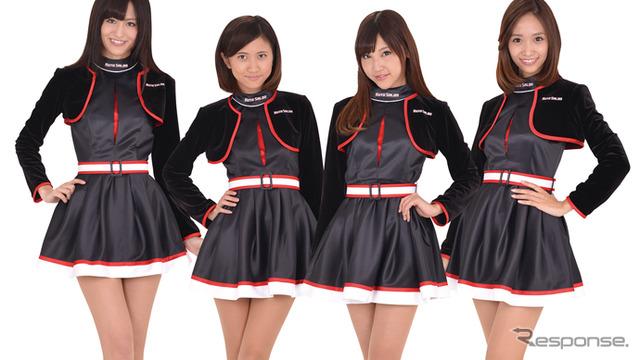 """โตเกียวออโต้ซาลอน 15 รูปสาว """"-ของคลาส"""