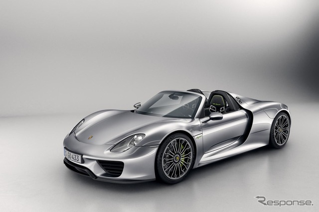 Porsche 918 Spyder production model