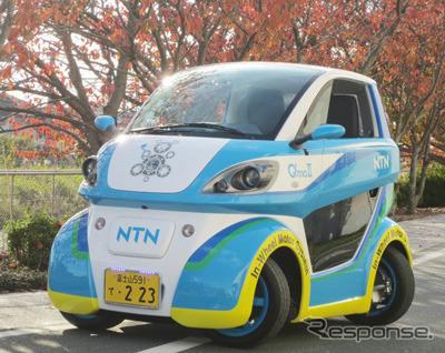 EV mobility developed by NTN ' Q ' mo '