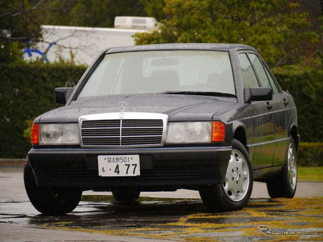 By remanufacturing parts Mercedes Benz 190E