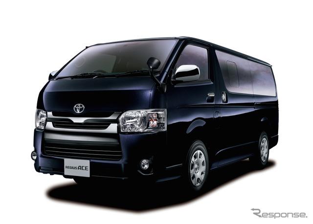 "RegiusAce Super GL ""DARK PRIME"" 2WD 3000 diesel special edition"
