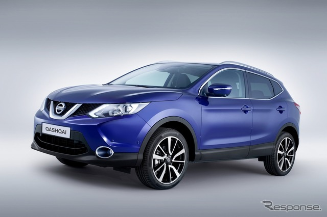 The all-new Nissan Qashqai