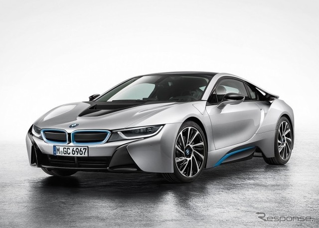 The model of the BMW i8