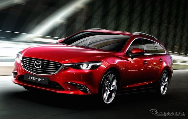 2015 model of Mazda 6 ( Mazda6 )