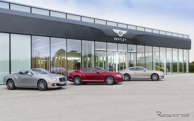 Image: the history of Bentley