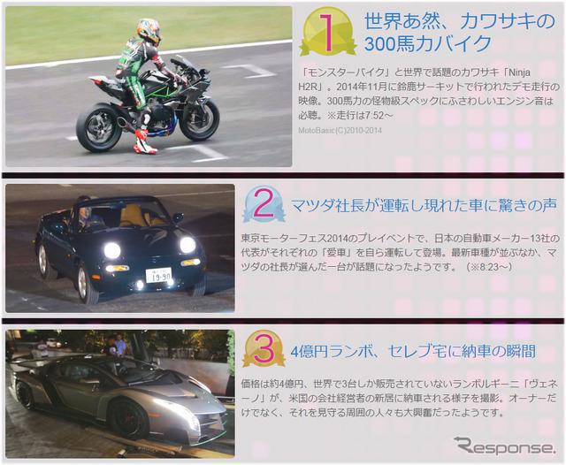 Yahoo! Video topics a word & rides