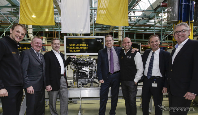 New generation started production at Opel's German factories diesel 2.0 CDTI