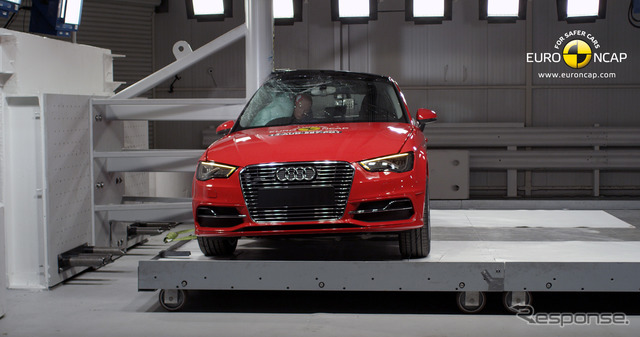 Audi A3 Sportback e-Tron of Euro NCAP crash tests