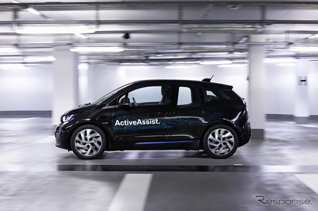 BMW i3-based automatic driving prototype car