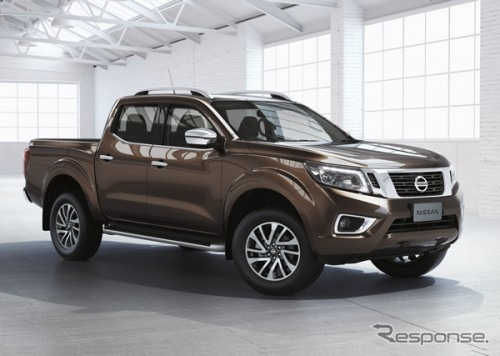 At the Nissan plant in Thailand to produce pickup trucks NP300 Navarra
