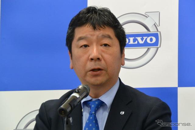 Volvo car President, Japan Kimura t.