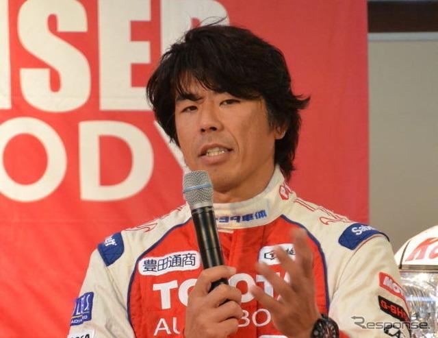 Team land cruiser Toyota autobody mitsuhashi Jun driver