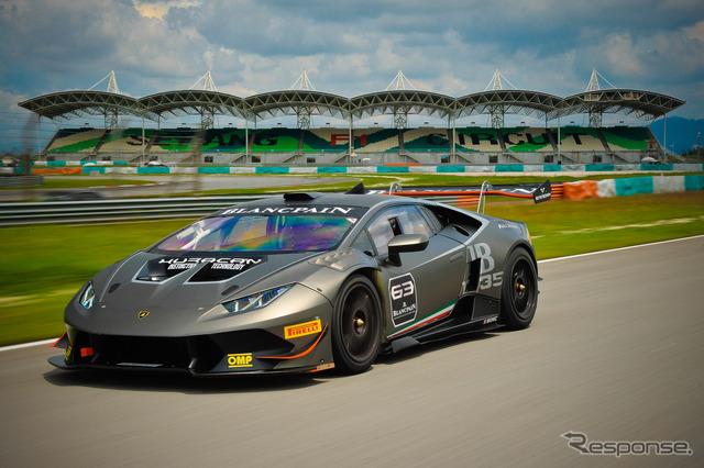 Lamborghini Huracan LP 620-2 4 Super Trofeo