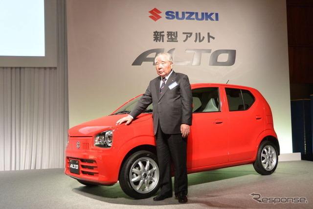 Suzuki new Alto meeting