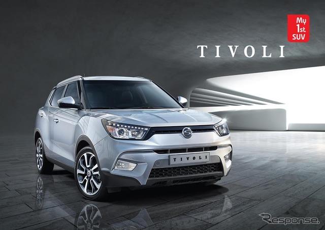 Ssangyong motor company Tivoli