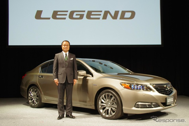 Takanobu Ito President of Honda with new legend
