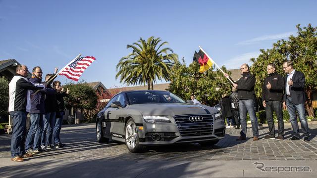 รถหุ่นยนต์ Audi A7