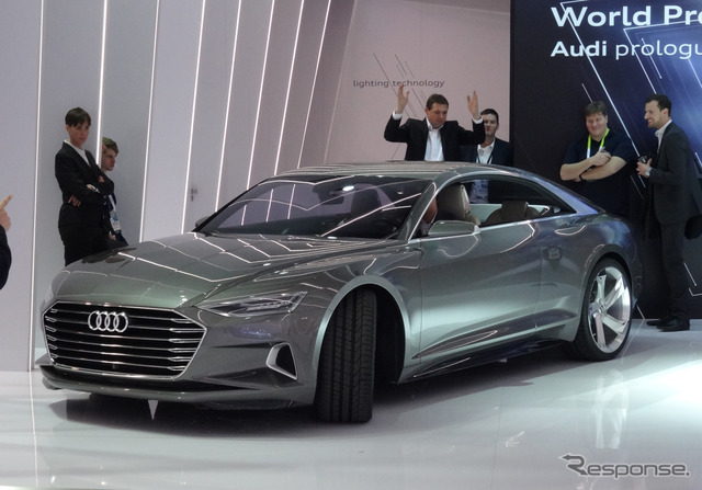 [CES15] ย้ายช่วงแนวคิด Audi อัตโนมัติในดูสมาร์ท