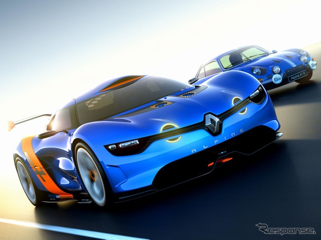 Renault Alpine A110, A110 Debuts 50th anniversary to commemorate the concept car-50 (reference image)