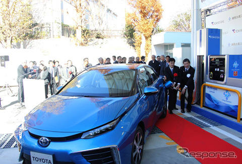 Tokyo Gas opens commercial hydrogen station in Nerima