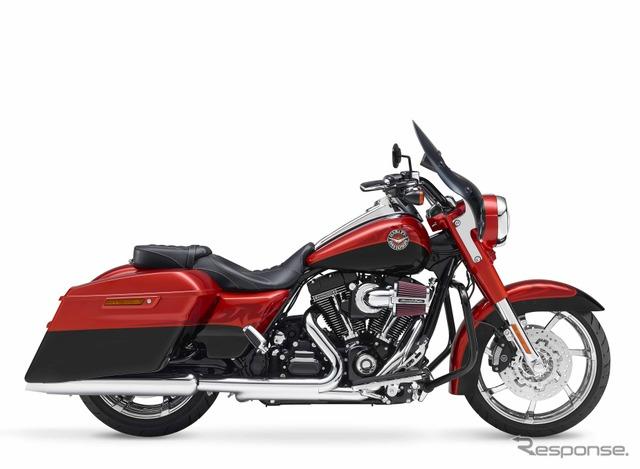 Harley-Davidson jalan raja (referensi gambar)
