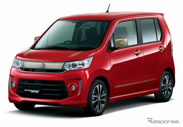 Suzuki Wagon R Stingray J style