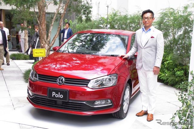Baru Volkswagen Polo dan VGJ Zhuang 司茂 Presiden