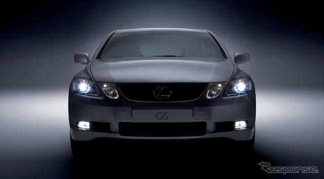 Lexus GS450h's European debut at the Geneva Motor Show