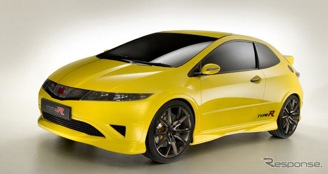 [Geneva Motor Show-06]-Honda Civic type R, and appearance of the show