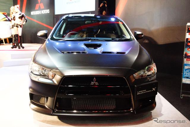 Mitsubishi Lancer Evolution X Final Concept (2015 Tokyo Auto Salon)