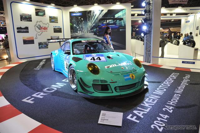 Falken booth (Tokyo Auto Salon 2015)