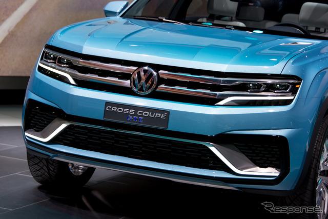 VW cross Coupe GTE (Detroit Motor Show 15)