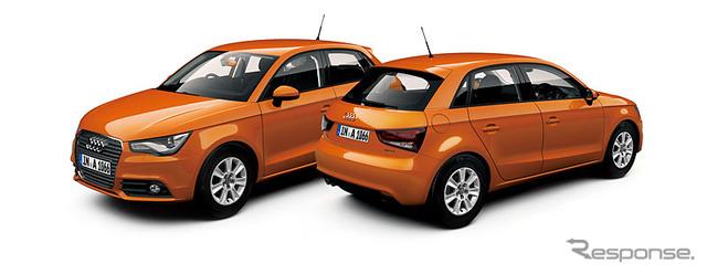 Audi A1 Sportback ซามัวส้ม