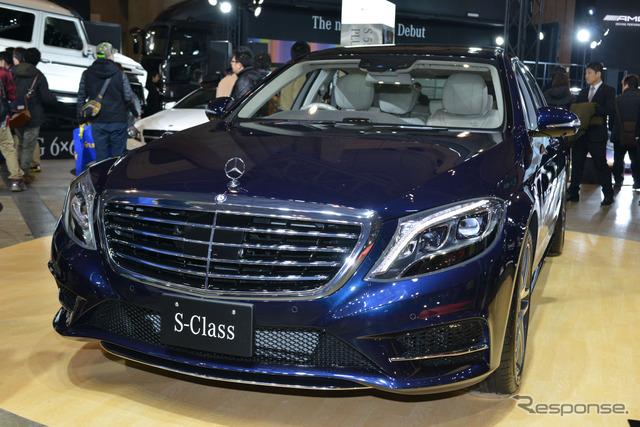 Mercedes-Benz S550 plug-in hybrid long (Tokyo Auto Salon 2015)