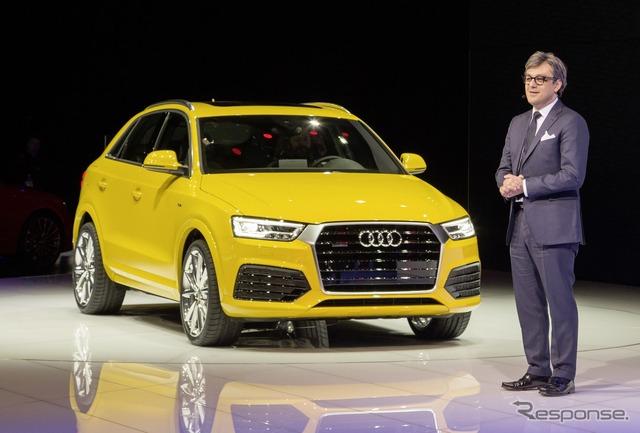 Audi Q3 ปรับปรุงใหม่ (ดีทรอยต์มอเตอร์แสดง 15)