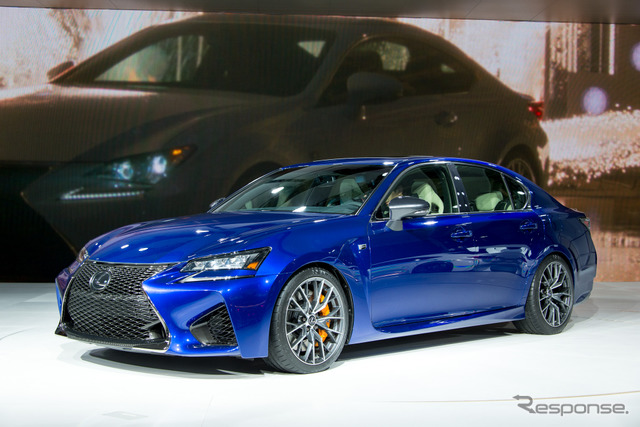 Lexus GS F (2015 North American International Auto Show)