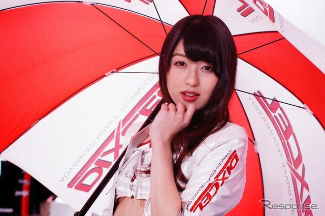 DIXCEL booth Companion (Tokyo Auto Salon 2015)