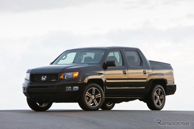 The 2014 Honda Ridgeline