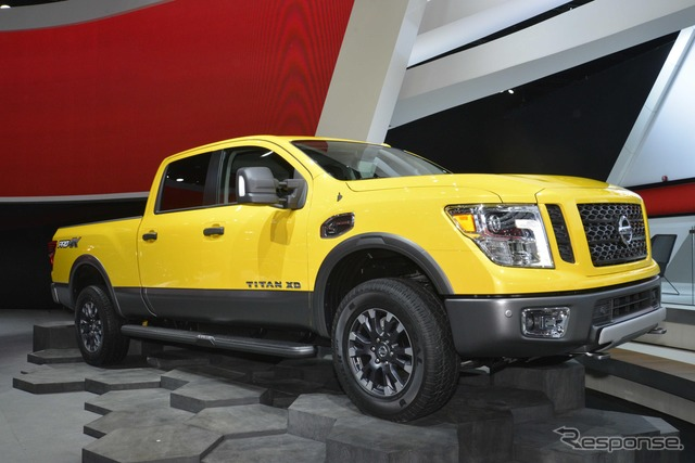 Nissan Titan XD PRO-4X (2015 North American International Auto Show)