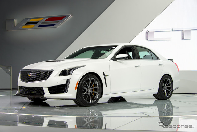Cadillac CTS-v (Detroit Motor Show 15)