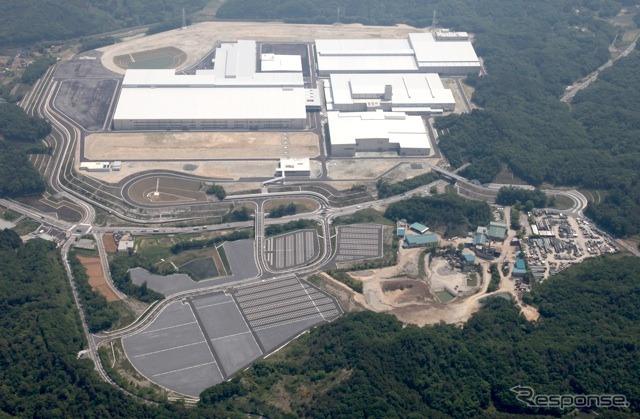 Honda auto plant in Saitama seisakusho Yorii